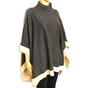 Joan Vass Pancho Sweater